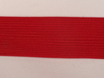 1 3/4 Red Rayon Braid
